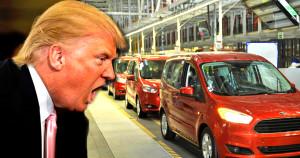 Trump'tan Kaçan ford TÜRKİYEYE SIĞINDI